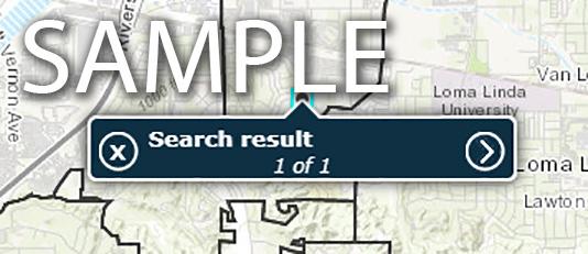 map sample